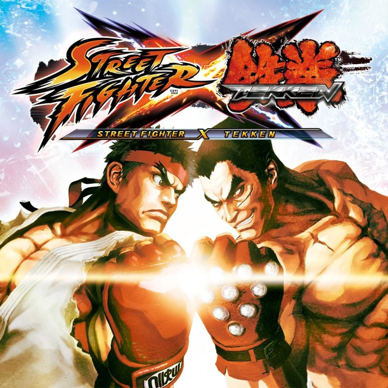 Street Fighter X Tekken PS Vita Front Cover