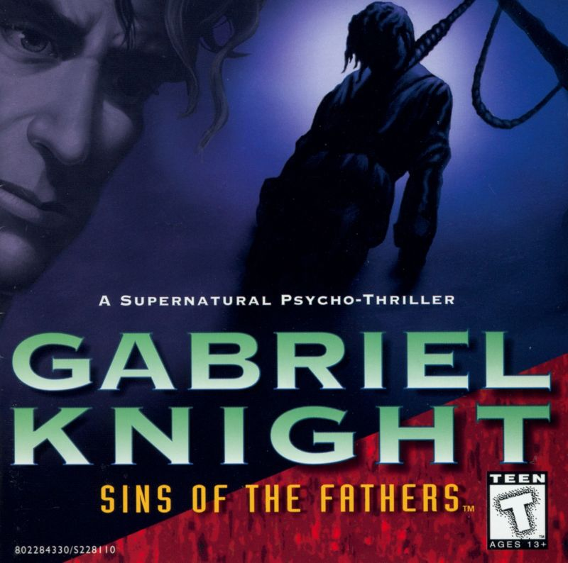 Gabriel Knight: Sins of the Fathers DOS Other Jewel Case - Front