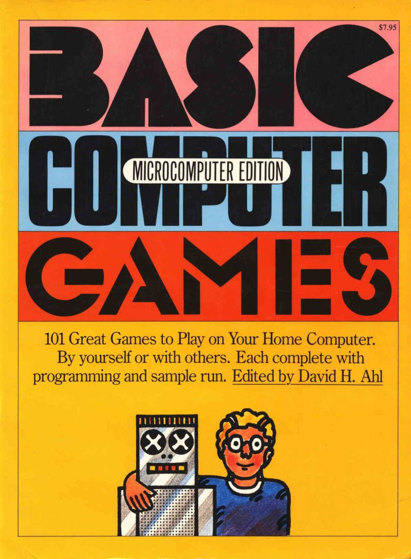 BASIC Computer Games (1978) Apple II box cover art - MobyGames
