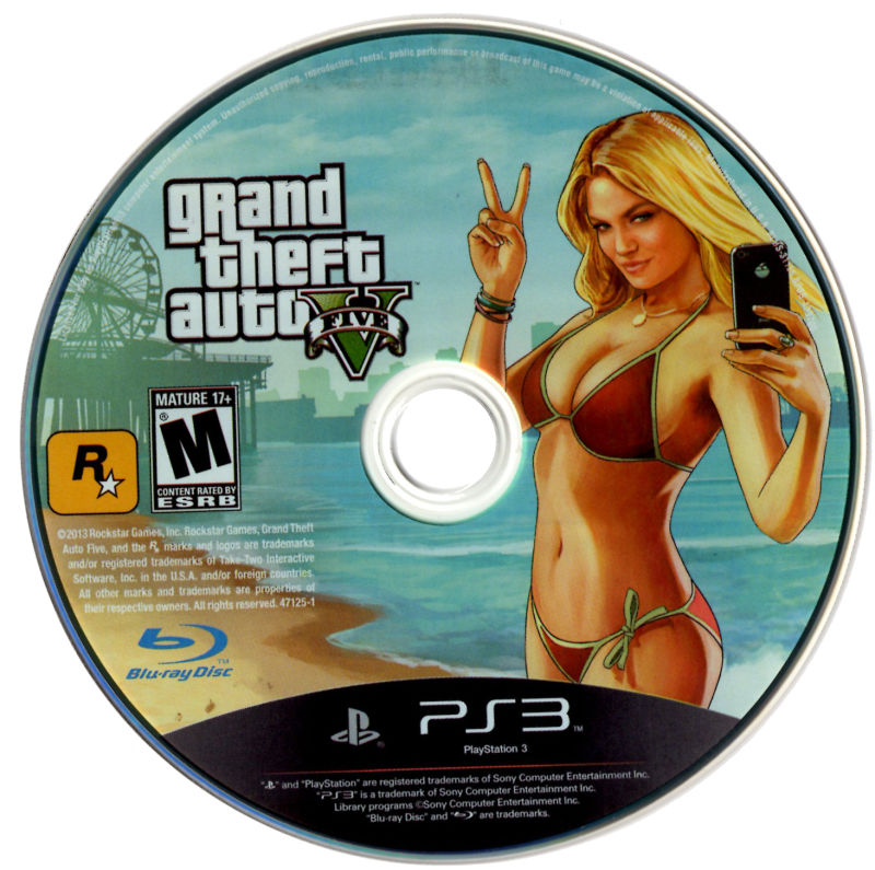Grand Theft Auto V PlayStation 3 Media