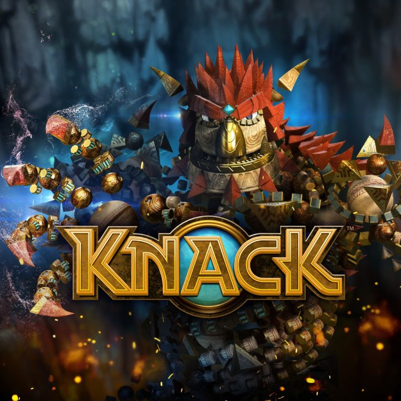 Knack PlayStation 4 Front Cover
