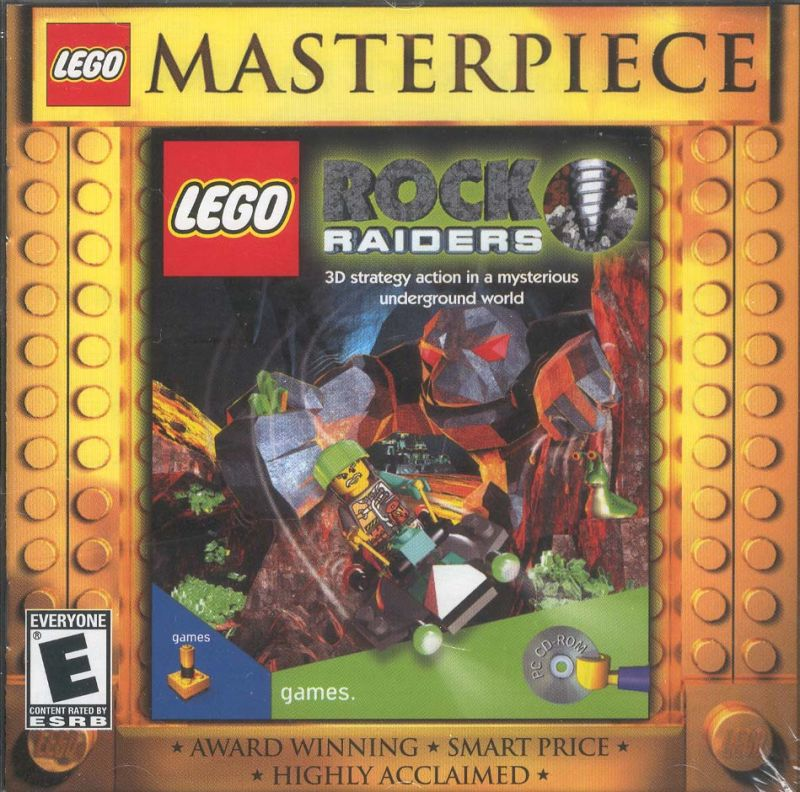 LEGO Rock Raiders (1999) Windows box cover art - MobyGames