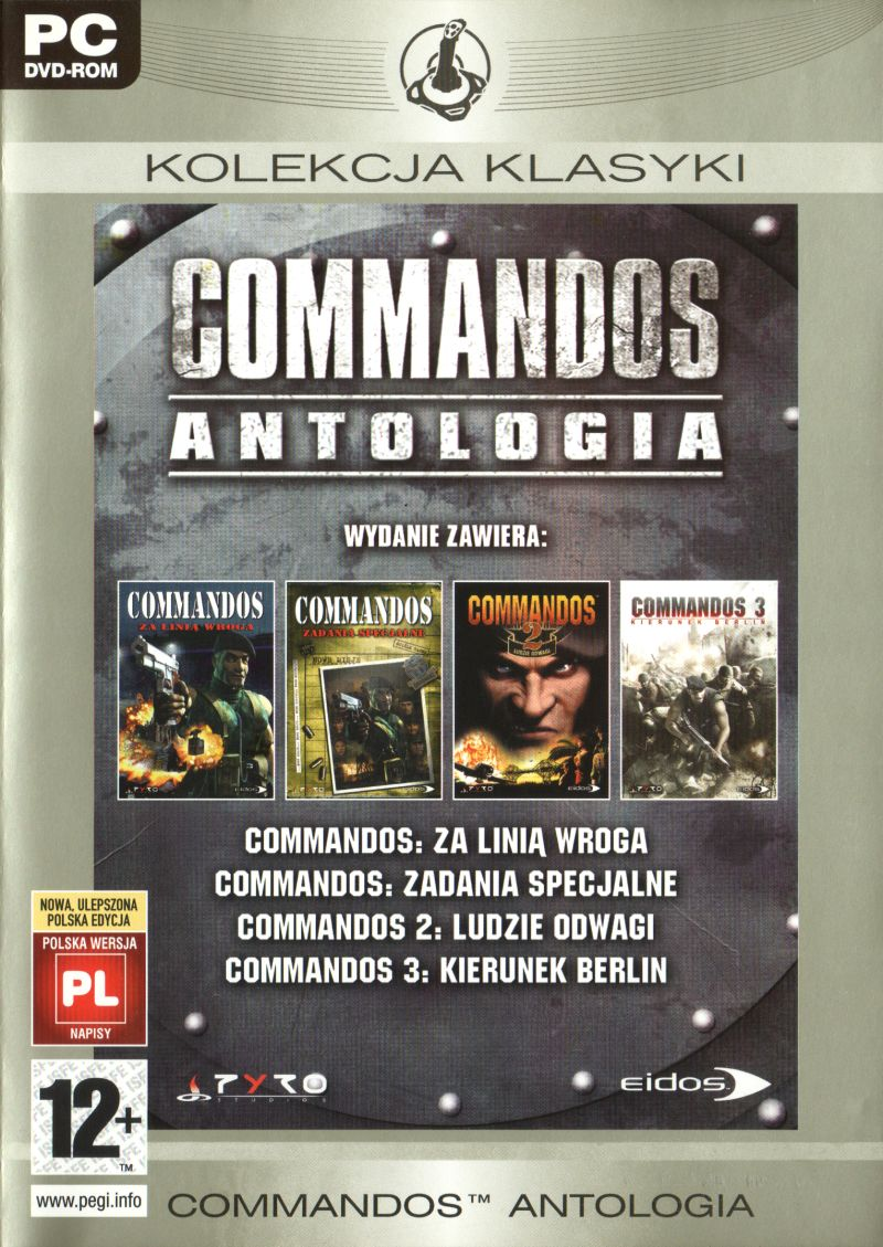 Commandos: Collection Windows Front Cover