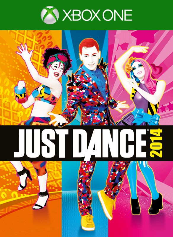 Just Dance 2014 Xbox One Front Cover 1st version