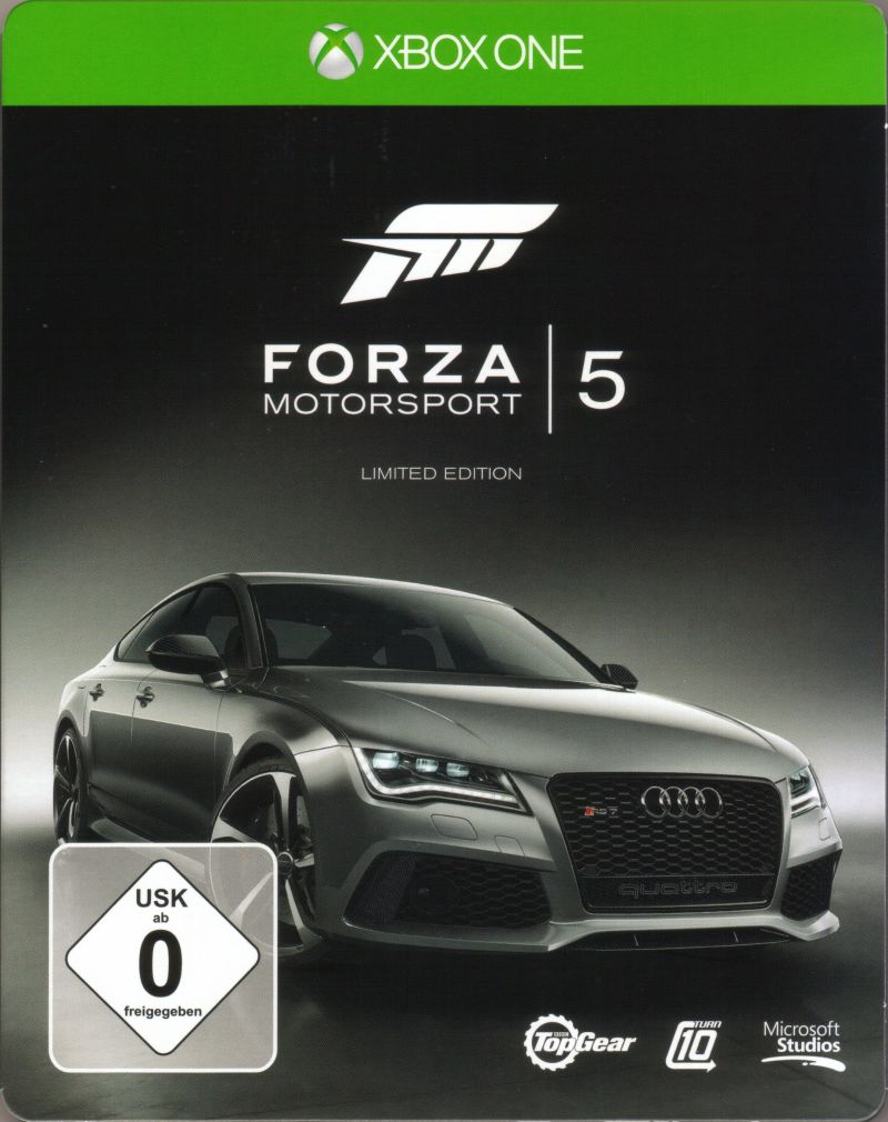 forza motorsport 5 limited edition 2013 xbox one box cover art mobygames. Black Bedroom Furniture Sets. Home Design Ideas