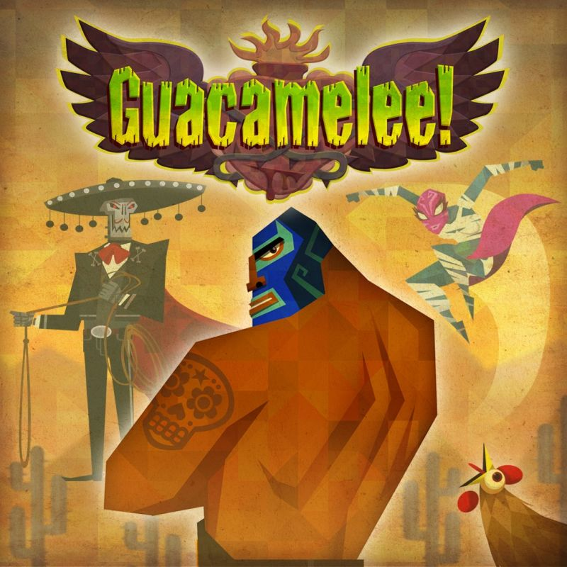 Guacamelee! PlayStation 3 Front Cover