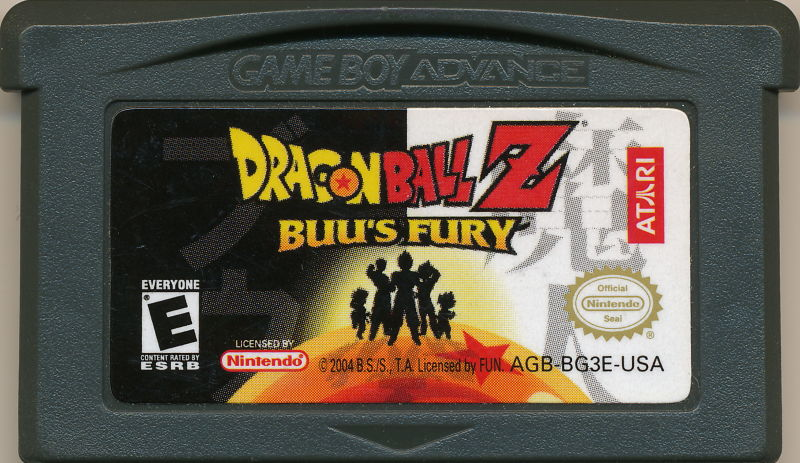 Dragon Ball Z: Buu's Fury Game Boy Advance Media