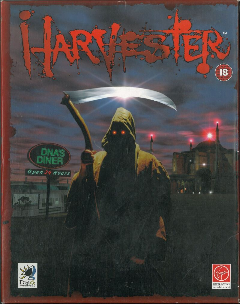 Harvester DOS Front Cover