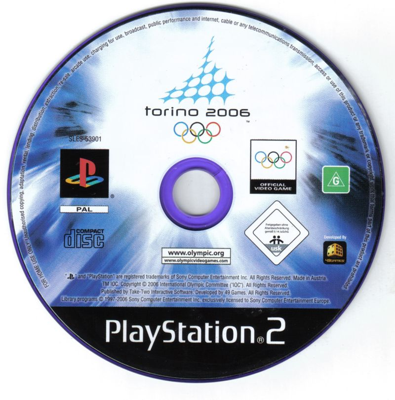 Torino 2006 PlayStation 2 Media