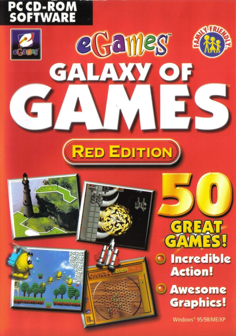 Galaxy of Games: Red Edition for Windows (2000) - MobyGames