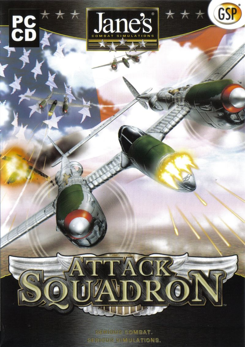 Jane's Combat Simulations: Attack Squadron Windows Front Cover