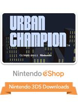 Urban Champion Nintendo 3DS Front Cover