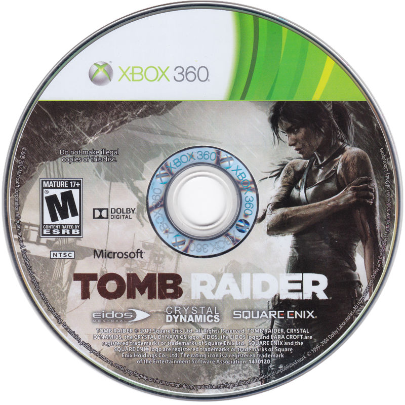 Tomb Raider (Best Buy Pre-Order Exclusive) (2013) Xbox 360
