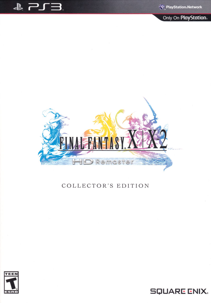 Final Fantasy X | X-2 HD Remaster (Collector's Edition) PlayStation 3 Front Cover