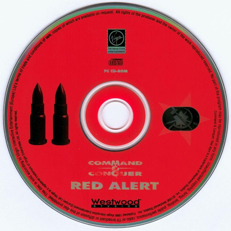 Command & Conquer: Red Alert DOS Media Disc 2 - Soviet Side