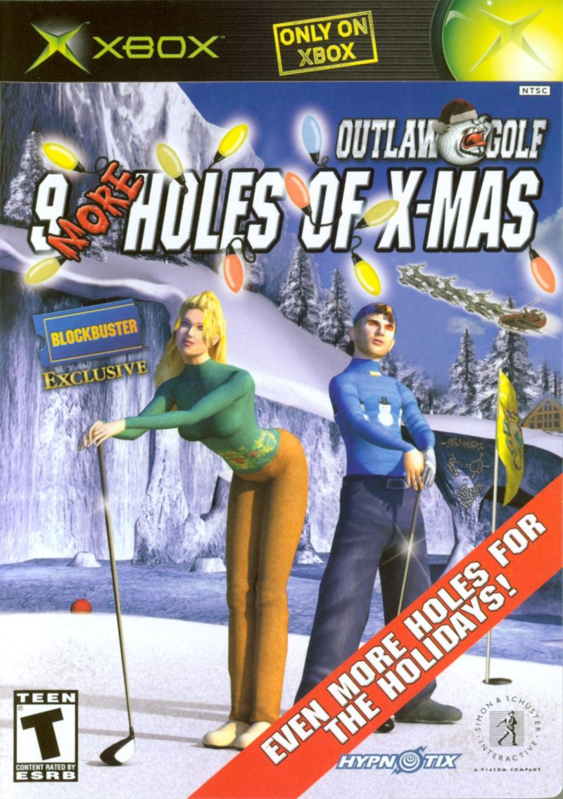 Outlaw Golf: 9 More Holes of X-Mas Xbox Front Cover