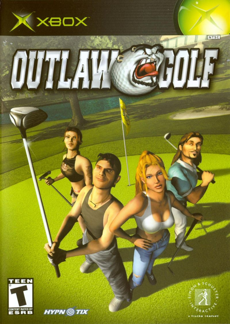Outlaw Golf Xbox Front Cover