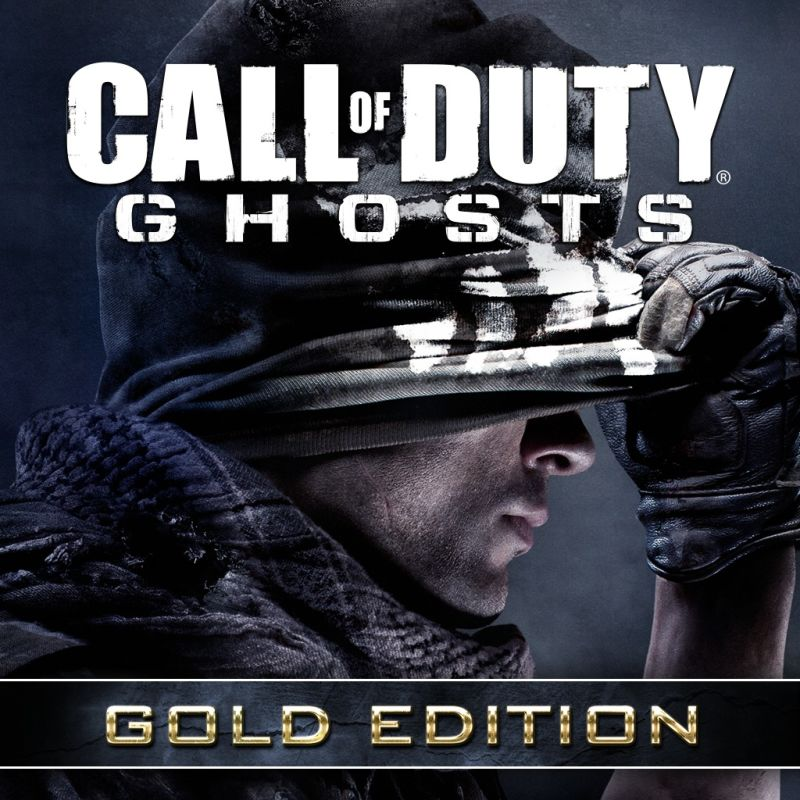 Call of duty ghosts gold edition 2014 playstation 3 box cover call of duty ghosts gold edition playstation 3 front cover voltagebd Choice Image
