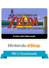 The Legend of Zelda: A Link to the Past Wii U Front Cover