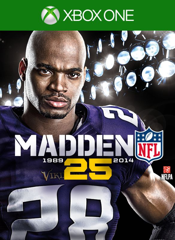 Book Cover Drawing Xbox One : Madden nfl  xbox one box cover art mobygames