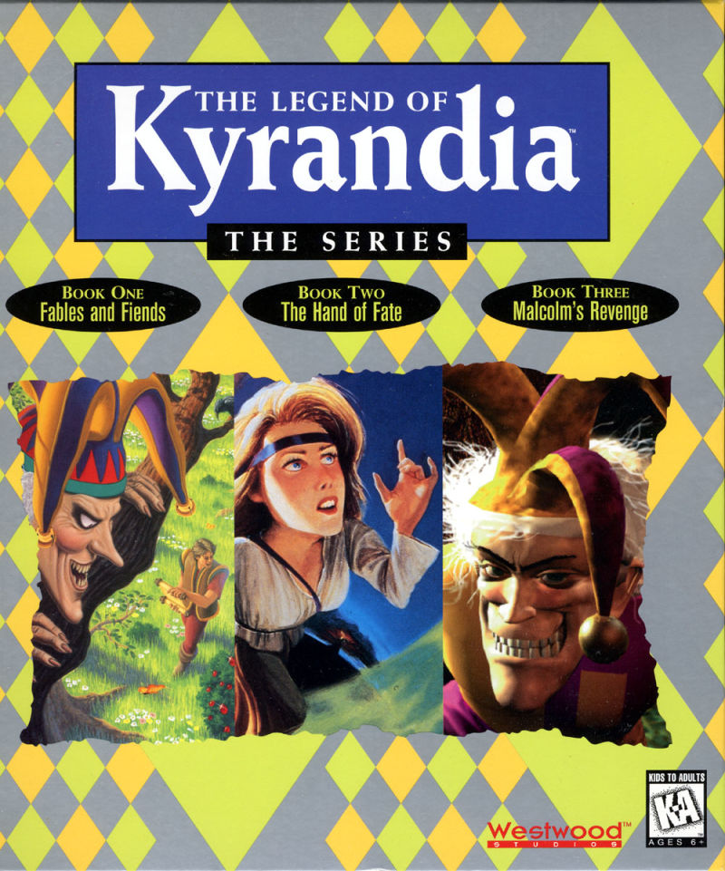 The Legend of Kyrandia: The Series DOS Front Cover