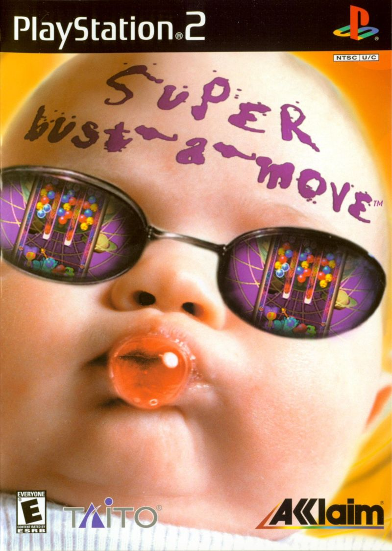 Super Bust-A-Move PlayStation 2 Front Cover