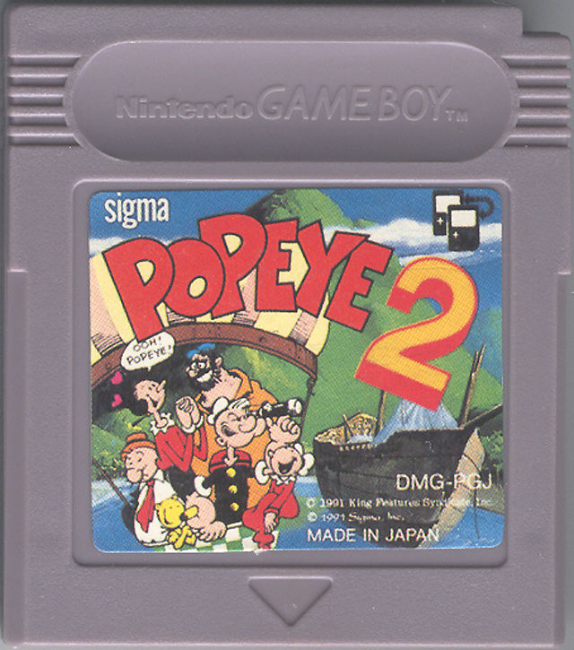 Popeye 2 Game Boy Media