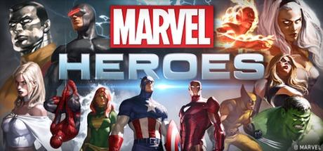 Marvel Heroes Windows Front Cover