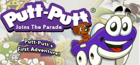 Putt-Putt Joins the Parade Linux Front Cover