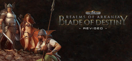 Realms of Arkania: Blade of Destiny Linux Front Cover