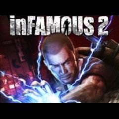 inFAMOUS 2 PlayStation 3 Front Cover