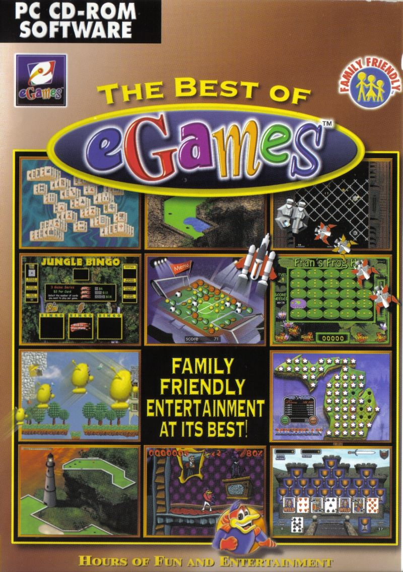 The Best Of EGames For Windows (2001)