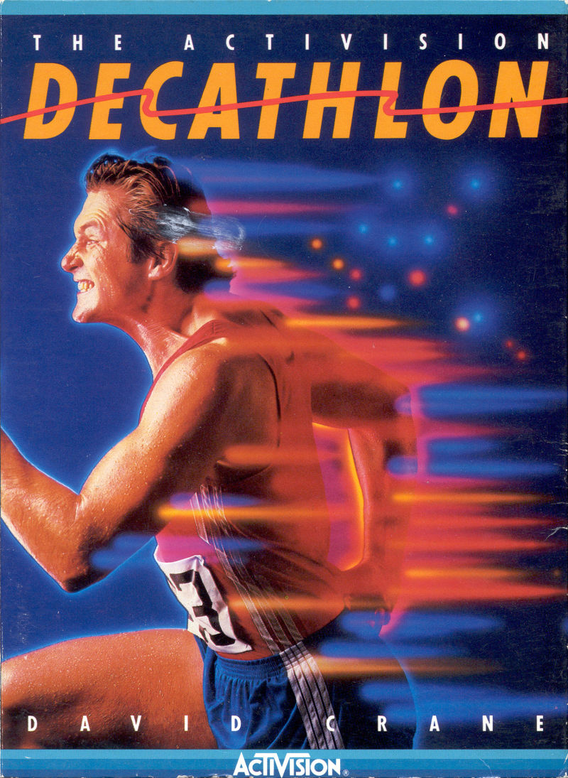 Video Game Girl Stock Image Image Of Latina Isolated: The Activision Decathlon For Atari 2600 (1983)