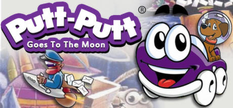 Putt-Putt Goes to the Moon Linux Front Cover