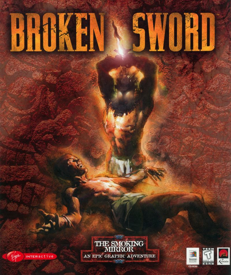 Broken Sword: The Smoking Mirror Windows Front Cover