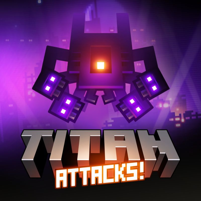 Titan Attacks! PlayStation 3 Front Cover