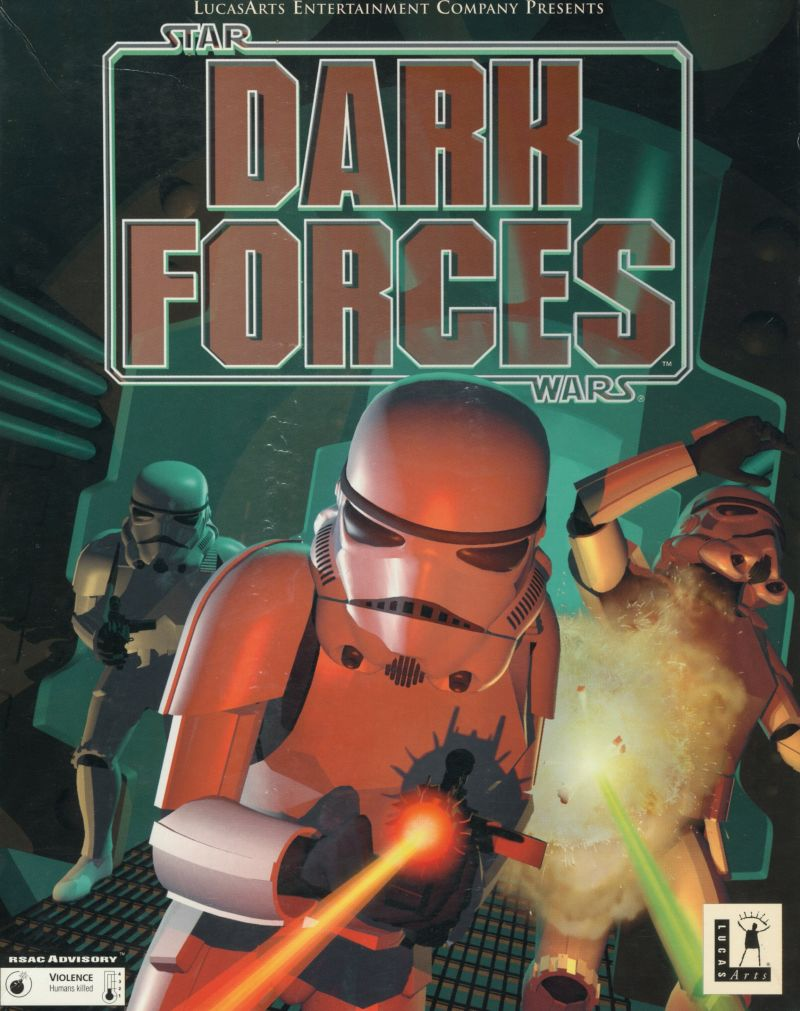 Star Wars Dark Forces 1995 Dos Box Cover Art Mobygames