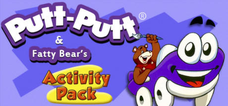 Putt-Putt and Fatty Bear's Activity Pack Linux Front Cover