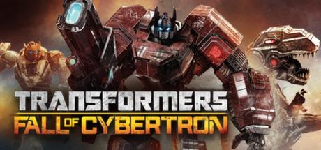 Transformers: Fall of Cybertron Windows Front Cover