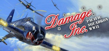 Damage Inc.: Pacific Squadron WWII Windows Front Cover