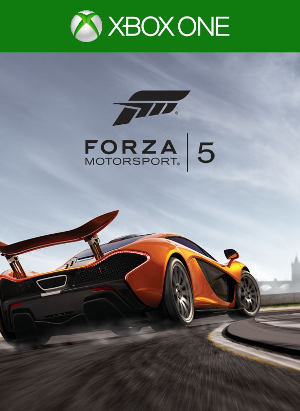forza motorsport 5 2013 xbox one box cover art mobygames