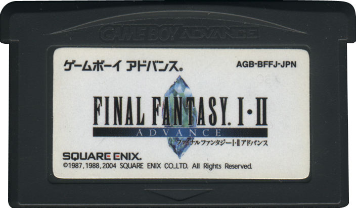 Final Fantasy I & II: Dawn of Souls Game Boy Advance Media