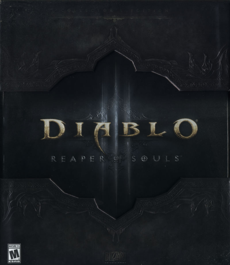 Diablo III: Reaper of Souls (Collector's Edition) Macintosh Front Cover