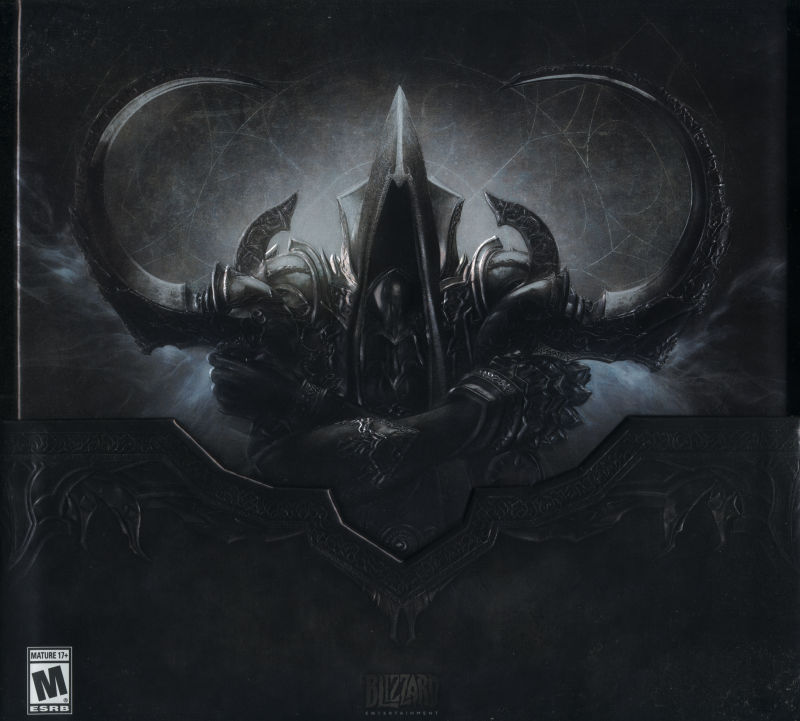 Diablo III: Reaper of Souls (Collector's Edition) Macintosh Front Cover Without box top