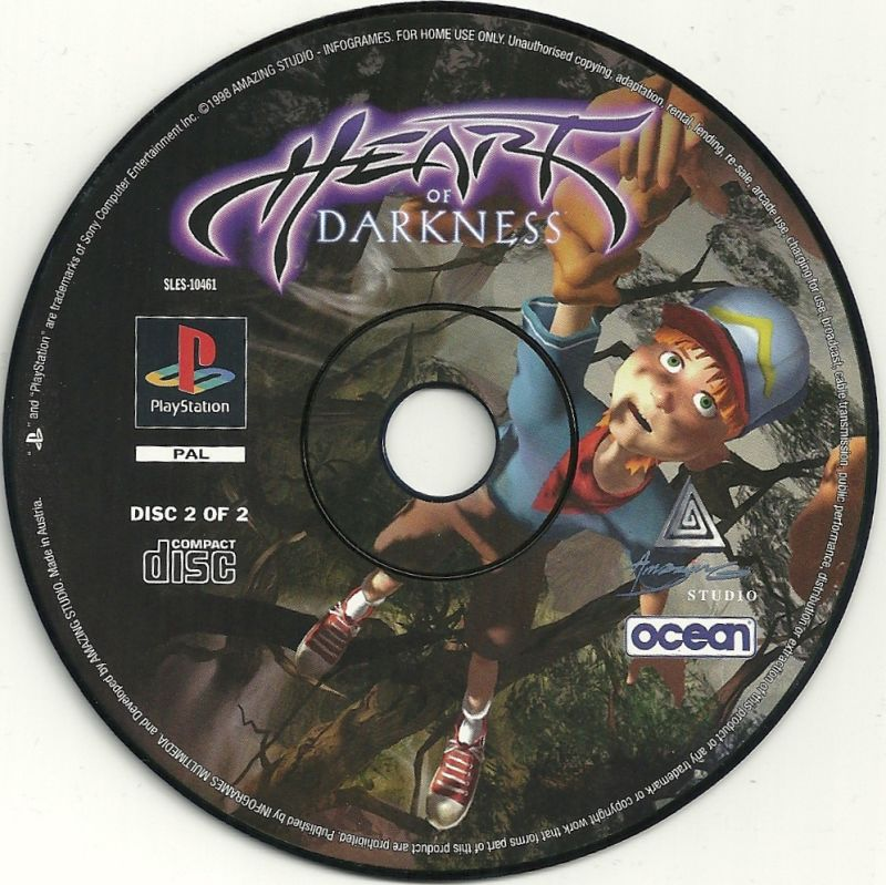 Heart of Darkness PlayStation Media Disk 2 of 2