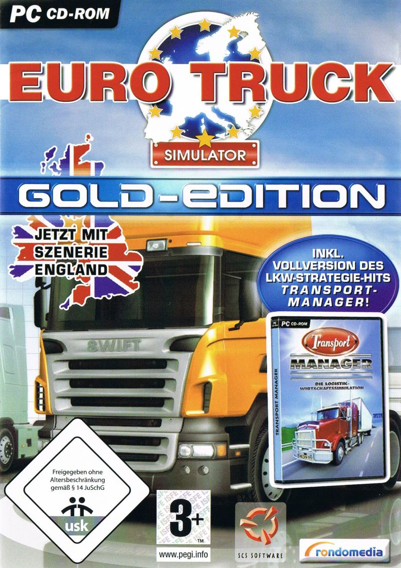 euro truck simulator gold edition. Black Bedroom Furniture Sets. Home Design Ideas
