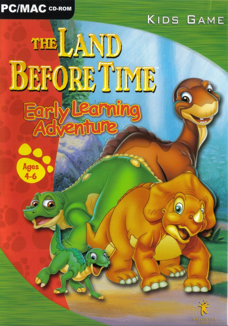 the land before time kindergarten adventure for windows 1998
