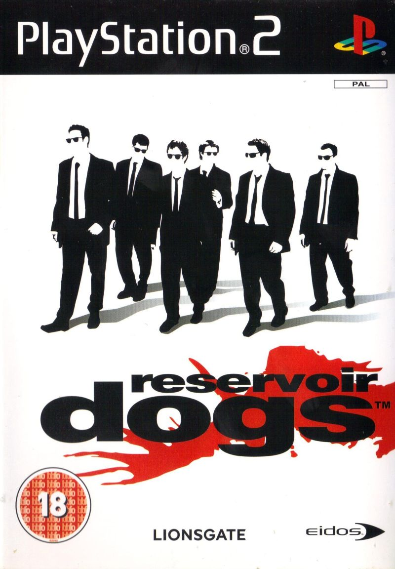 Reservoir Dogs PlayStation 2 Front Cover