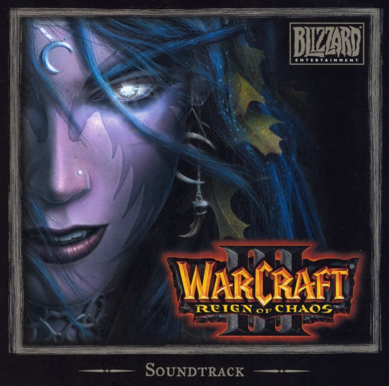 Warcraft III: Reign of Chaos (Collector's Edition) Macintosh Soundtrack Jewel Case - Front
