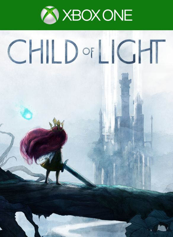 Elegant Child Of Light Xbox One Front Cover 1st Version Amazing Design